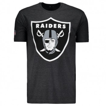 Camiseta New Era NFL Oakland Raiders Mescla