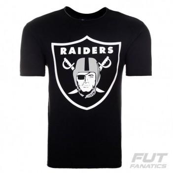 Camiseta New Era NFL Oakland Raiders Preta