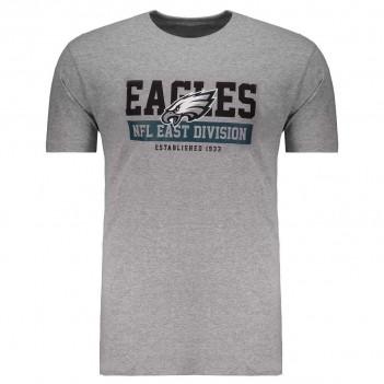 Camiseta New Era NFL Philadelphia Eagles Essential Cinza