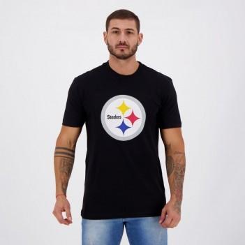 Camiseta New Era NFL Pittsburgh Steelers Preta