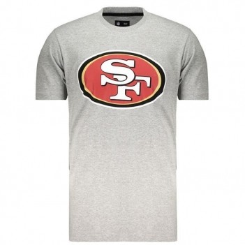 Camiseta New Era NFL San Francisco 49ers Cinza