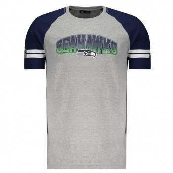 Camiseta New Era NFL Seattle Seahawks Cinza