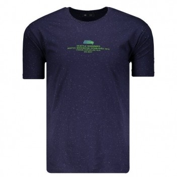 Camiseta New Era NFL Seattle Seahawks Marinho e Verde