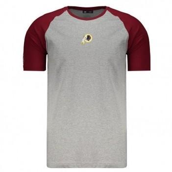 Camiseta New Era NFL Washington Redskins Cinza