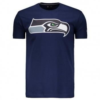 Camiseta New Era NFL Seattle Seahawks Azul