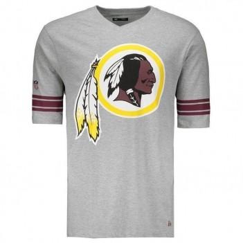 Camiseta New Era NFL Washington Redskins 1932 Cinza