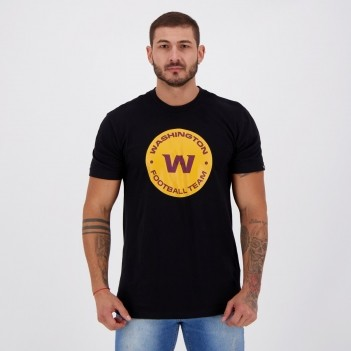 Camiseta New Era NFL Washington Redskins Strike Preta
