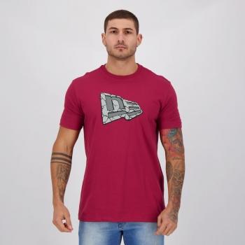 Camiseta New Era Trick Rock Vinho