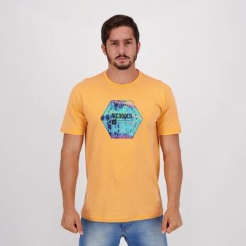 Camiseta Nicoboco Basic Toucano Laranja