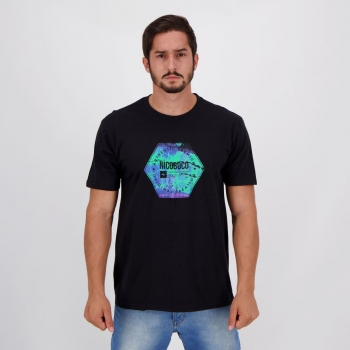 Camiseta Nicoboco Basic Toucano Preta