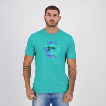 Camiseta Nicoboco Basic Toucano Verde