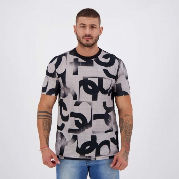 Camiseta Nicoboco Digital Zamgoose Cinza