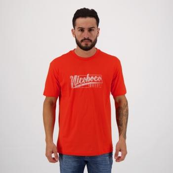 Camiseta Nicoboco Siesta Laranja