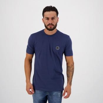 Camiseta Nicoboco Slim Fit Kombi Marinho