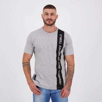 Camiseta O'Neill American Cinza Mescla