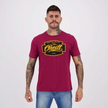 Camiseta O'Neill Bolt Bordô