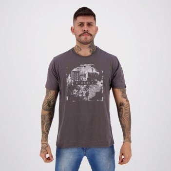 Camiseta O'Neill Innovation Estampada Chumbo