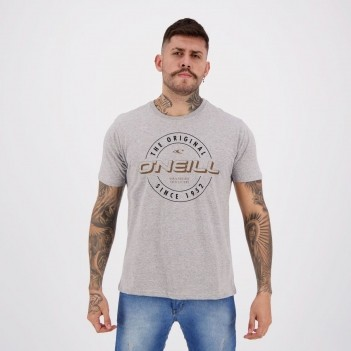 Camiseta O'Neill Unreasonable Cinza Mescla