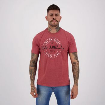 Camiseta O'Neill Unreasonable Vermelha Mescla
