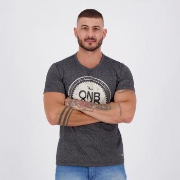 Camiseta Onbongo Deluxe Especial Preta Mescla