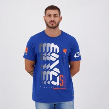 Camiseta Onbongo Established Azul Royal
