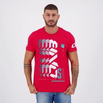 Camiseta Onbongo Established Vermelha