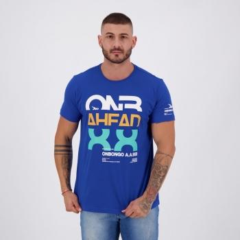 Camiseta Onbongo Estampada 88 Azul
