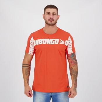 Camiseta Onbongo Front Print Laranja
