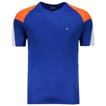 Camisa Poker Rutenio Azul e Laranja