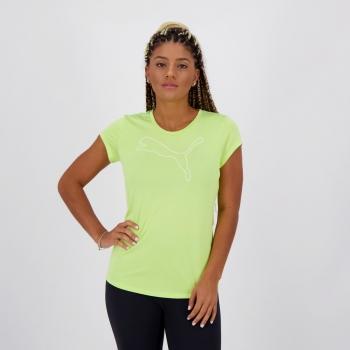 Camiseta Puma Active Feminina Verde
