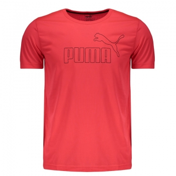 Camiseta Puma Active No.1 Rosa