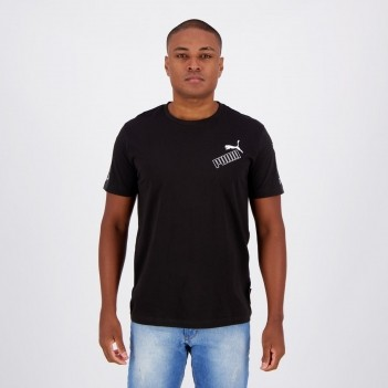 Camiseta Puma Amplified Cat Preta