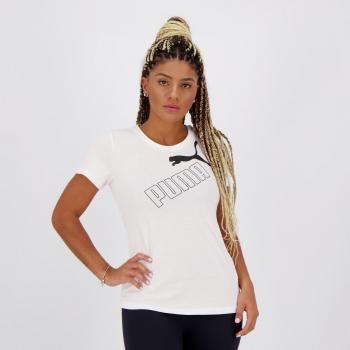 Camiseta Puma Amplified Feminina Branca