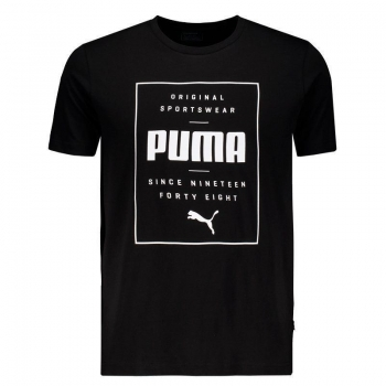 Camiseta Puma Box Logo