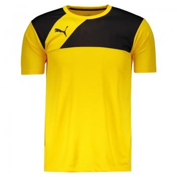 Camiseta Puma BR Entry Training Jersey Amarela