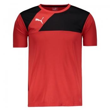 Camiseta Puma BR Entry Training Jersey Vermelha