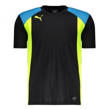 Camiseta Puma BTS Preta e Azul
