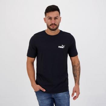 Camiseta Puma ESS Small Logo Preta