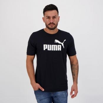 Camiseta Puma Essential Big Preta