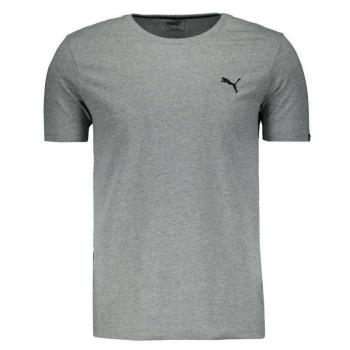 Camiseta Puma Essential Cinza