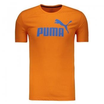 Camiseta Puma Essential N°1 Laranja