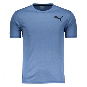 Camiseta Puma Essential Puretech Heather Azul
