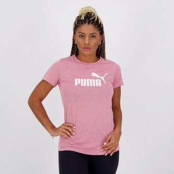 Camiseta Puma Essentials Heather Tee Feminina