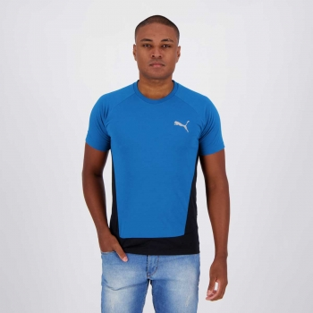 Camiseta Puma Evostripe Azul