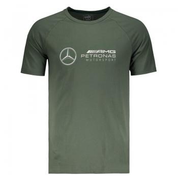 Camiseta Puma Mercedes AMG Petronas Logo Verde