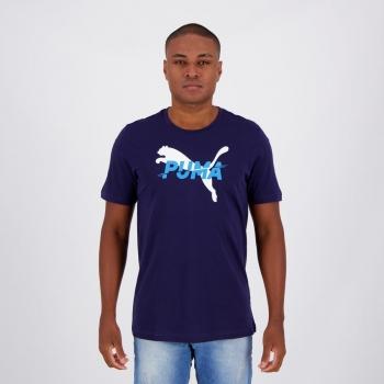 Camiseta Puma Modern Sports Marinho