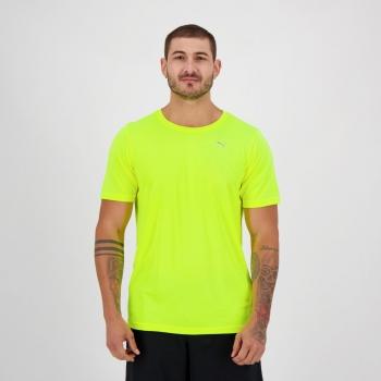 Camiseta Puma Performance S Amarela