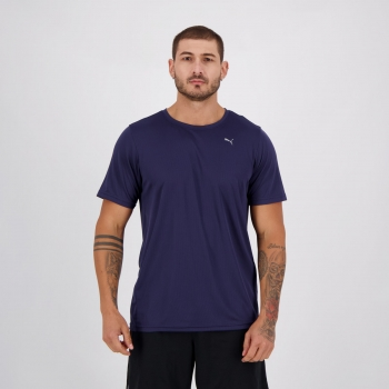 Camiseta Puma Performance SS Marinho
