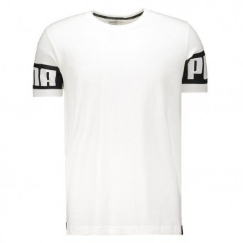 Camiseta Puma Rebel Branca