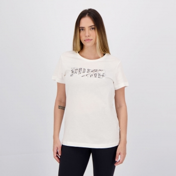 Camiseta Puma Rebel Graphic II Feminina Branca